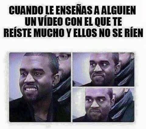 Memes En Espanol Graciosos Cuando Le Ensenas Un Video Chistoso A Alguien Memes Divertidos Memes Chistosisimos Meme Gracioso