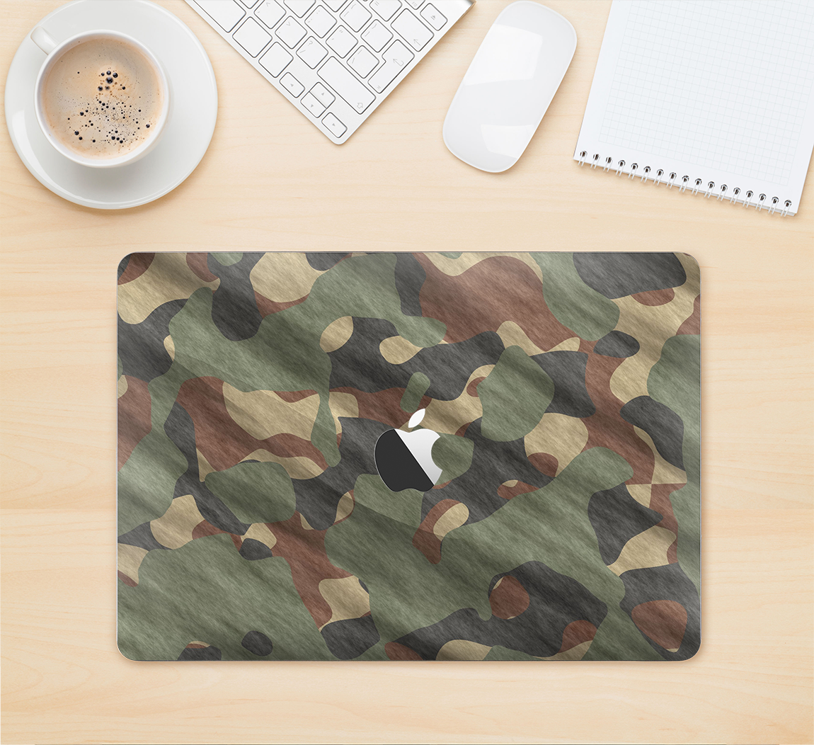 The Traditional Camouflage Fabric Pattern Skin Kit for the