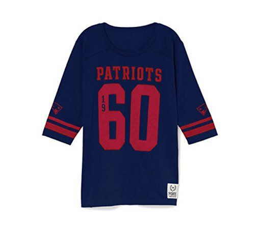 ... Bling Slouchy Zip Hoodie VictoriasSecret ... Victorias Secret PINK New  England Patriots Jersey T-shirt Medium Navy Blue ... 54b498d8b