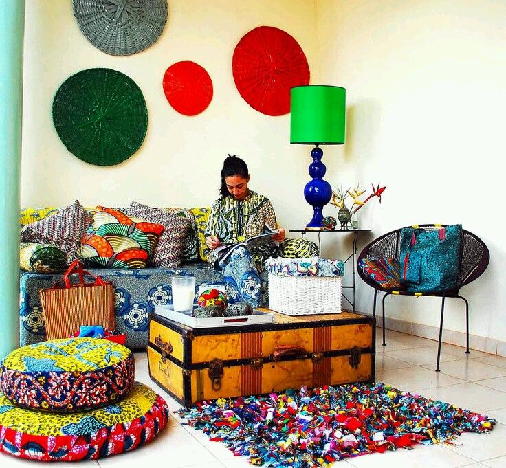 This must be the CEO of Vlisco's playhouse?  The Blog | Facebook | Twitter   African DesignAfrican StyleAfrican FashionAfrican Interior ...