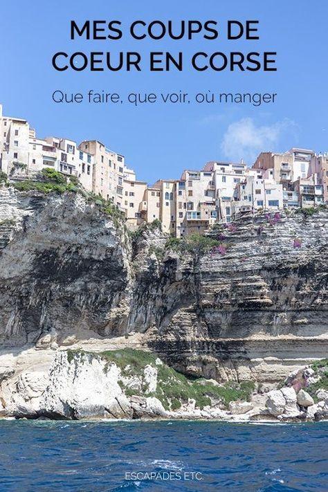 Que faire en Corse : mes coups de cœur