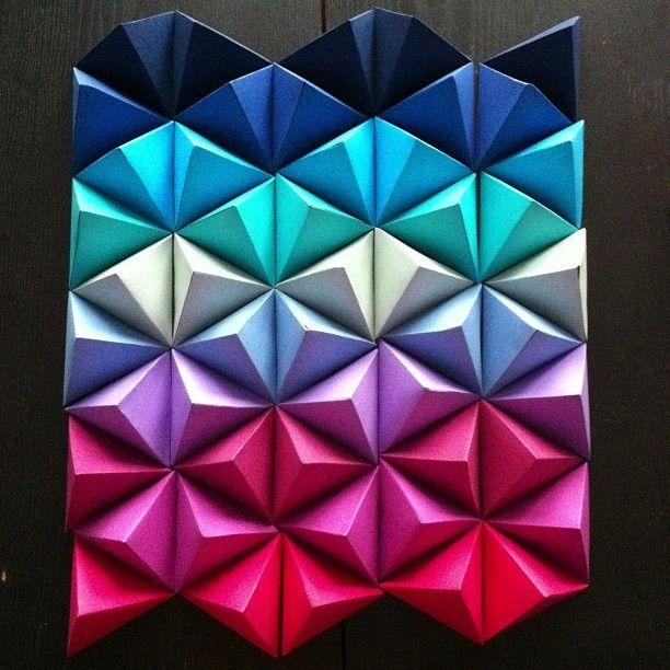 triangles wall deco home livingroom magic paper. Black Bedroom Furniture Sets. Home Design Ideas