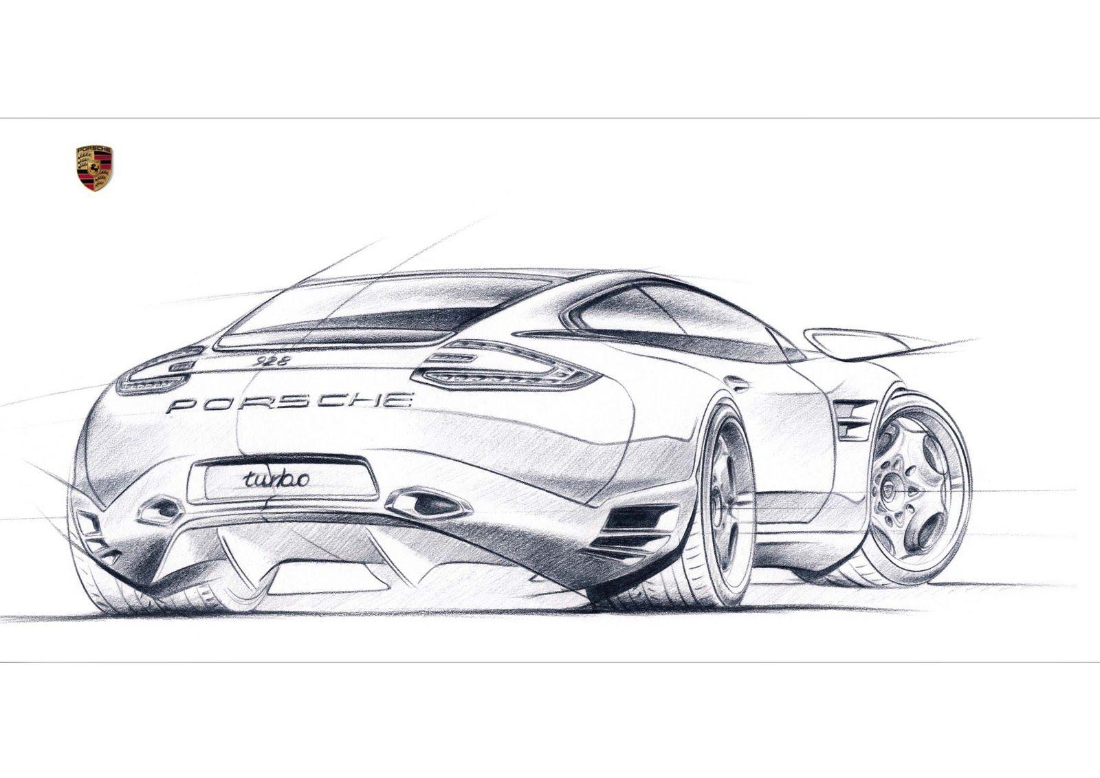 Sketch+928-2 #porsche … | Pinteres…