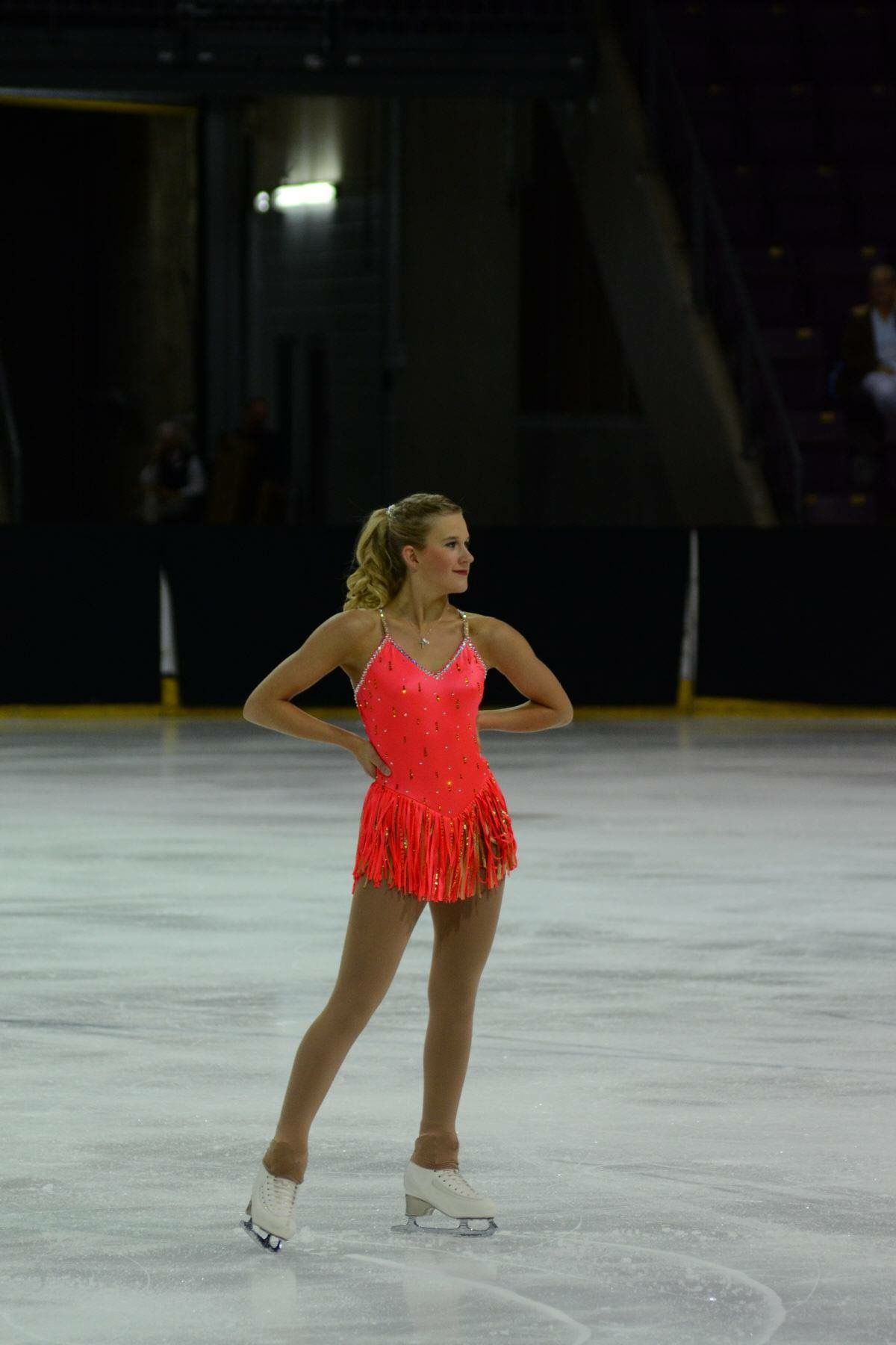 Figure skating dress for Smash! by Kelley Matthews Designs