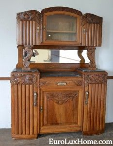 French Art Deco Buffet, due on our next container of antiques from ...