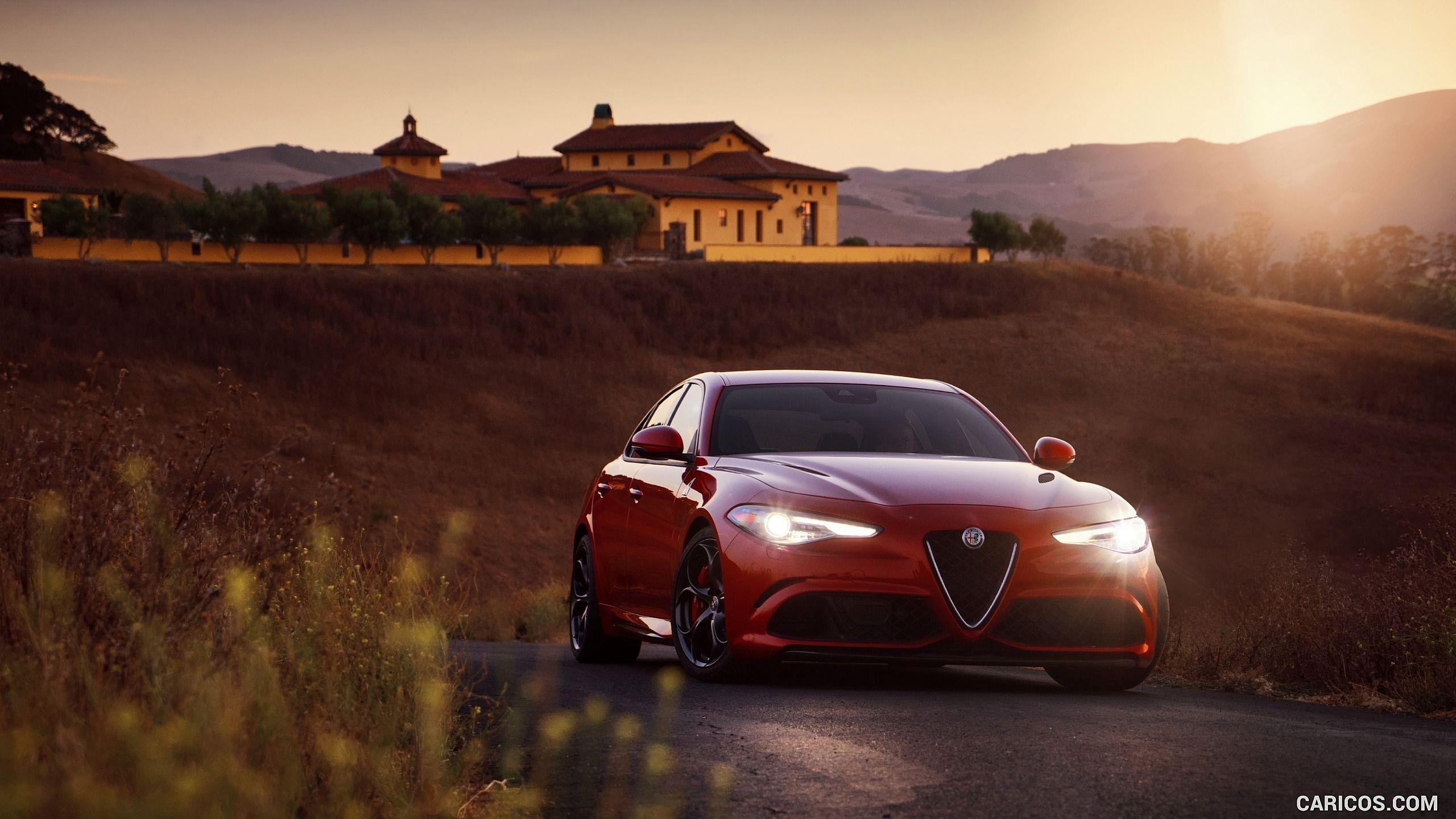 2017 Alfa Romeo Giulia Quadrifoglio Wallpaper
