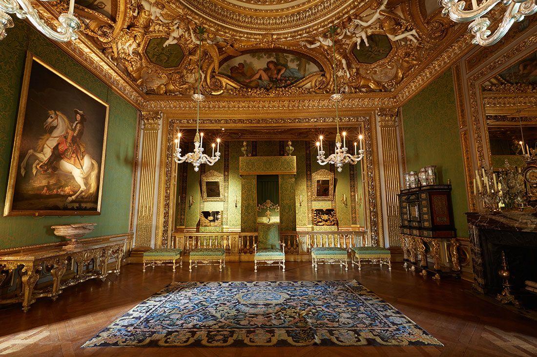 Chambre Du Roi C Guillaume Crochez Chateau De Vaux Le Vicomte France Architect Louis Le Vau 1612 1670 Room Of Chateau De Val Interieurs Du Chateau Chateau
