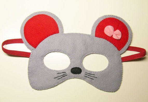 Mausmaske Masken Tiermasken Und Masken Basteln
