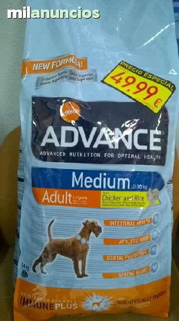 . Pienso con precio marcado en oferta. Clinica veterinaria Santa Maria de Gracia. http://adopciondeunperro.blogspot.com.es/ 15 kilos razas medianas