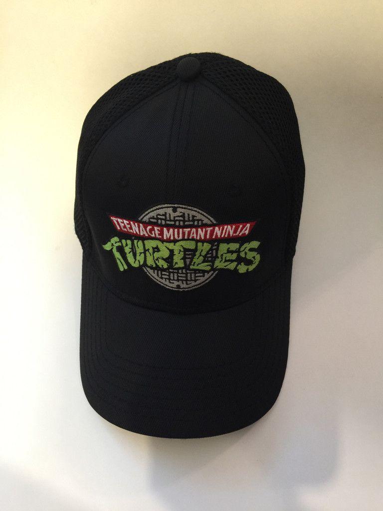 Teenage Mutant Ninja Turtle TMNT Embroidered Hat - One Size Fits Most 19c30c962577