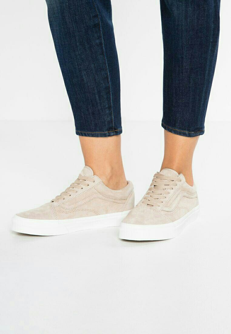 the latest 140a3 cf5d4 Vans OLD SKOOL - Sneakers laag - humus blanc de blanc - Zalando.