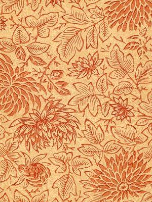 Clarence House Wallpapers Invergarry Terracotta 172 99 Per Roll Interiors Design Home Decor Orange Florals W Wallpaper Home Wallpaper Wall Patterns Clarence house wallpaper samples