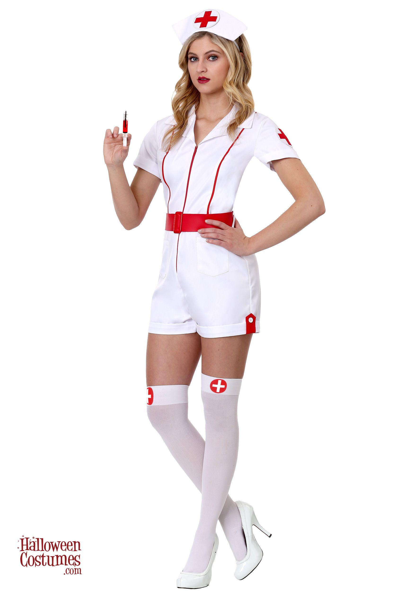 0aea6445156c8 Women's Love Shot Nurse Costume - Exclusive | Halloween Costumes ...