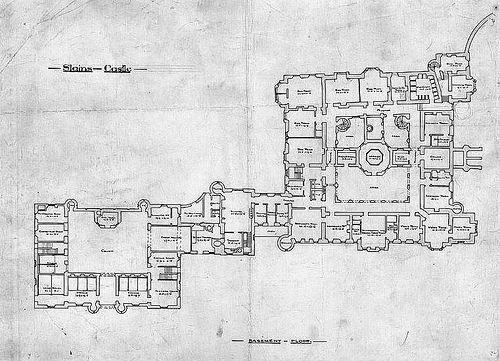 Slains Castle Ground Floor Plan Castle Floor Plan Castle Plans Floor Plans