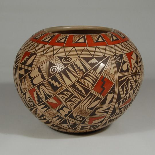 southwest indian pottery | Hopi Elaborately Designed ...