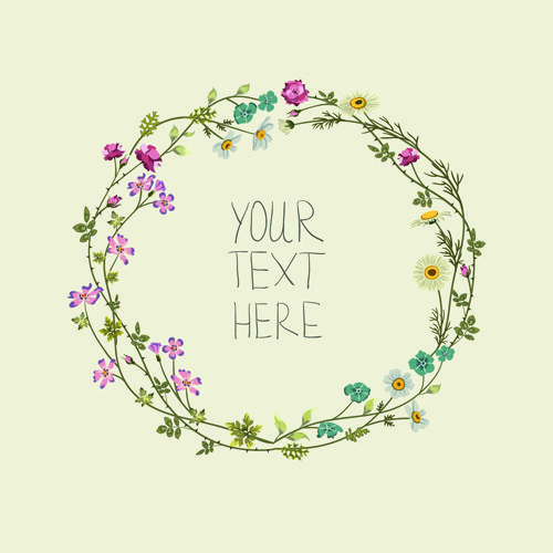 Beautiful Flower Frames With Vintage Background 02 Free Flower Frame Background Vintage Vintage Flowers