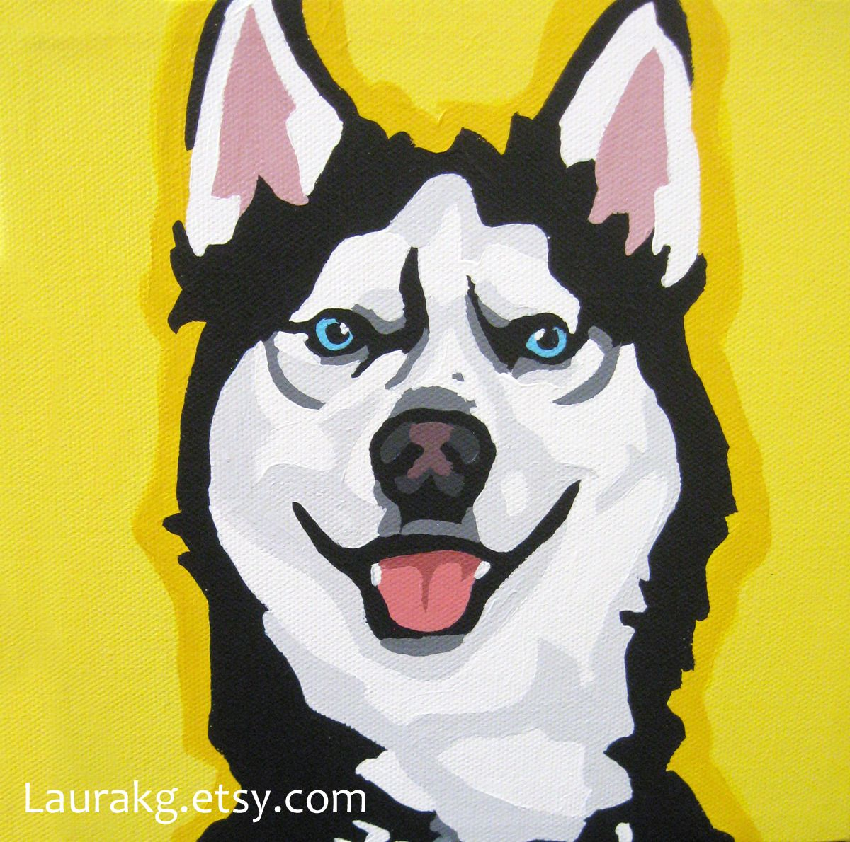 Pin By Beth Martell On Dogs Dog Pop Art Dog Canvas