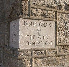 The Chief Cornerstone.