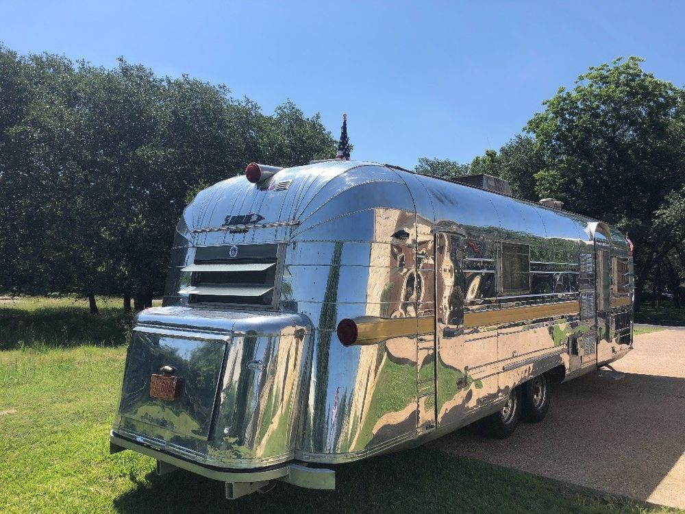 1964 Streamline Slide in truck campers, Airstream