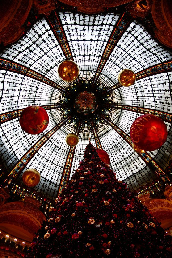 Christmas Tree, Galeries Lafayette, Paris