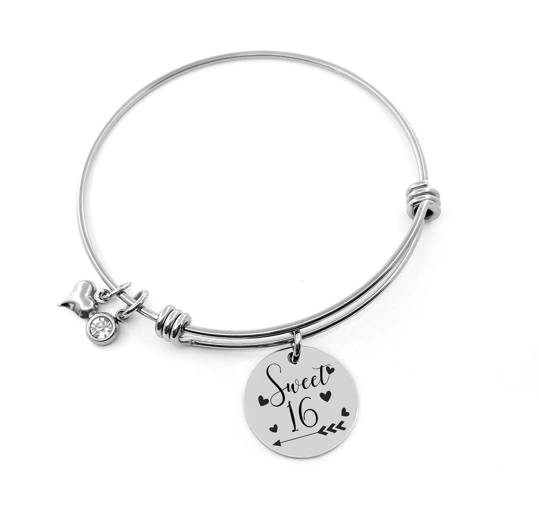 Sweet 16 Bracelet Jewelry Birthday Gift