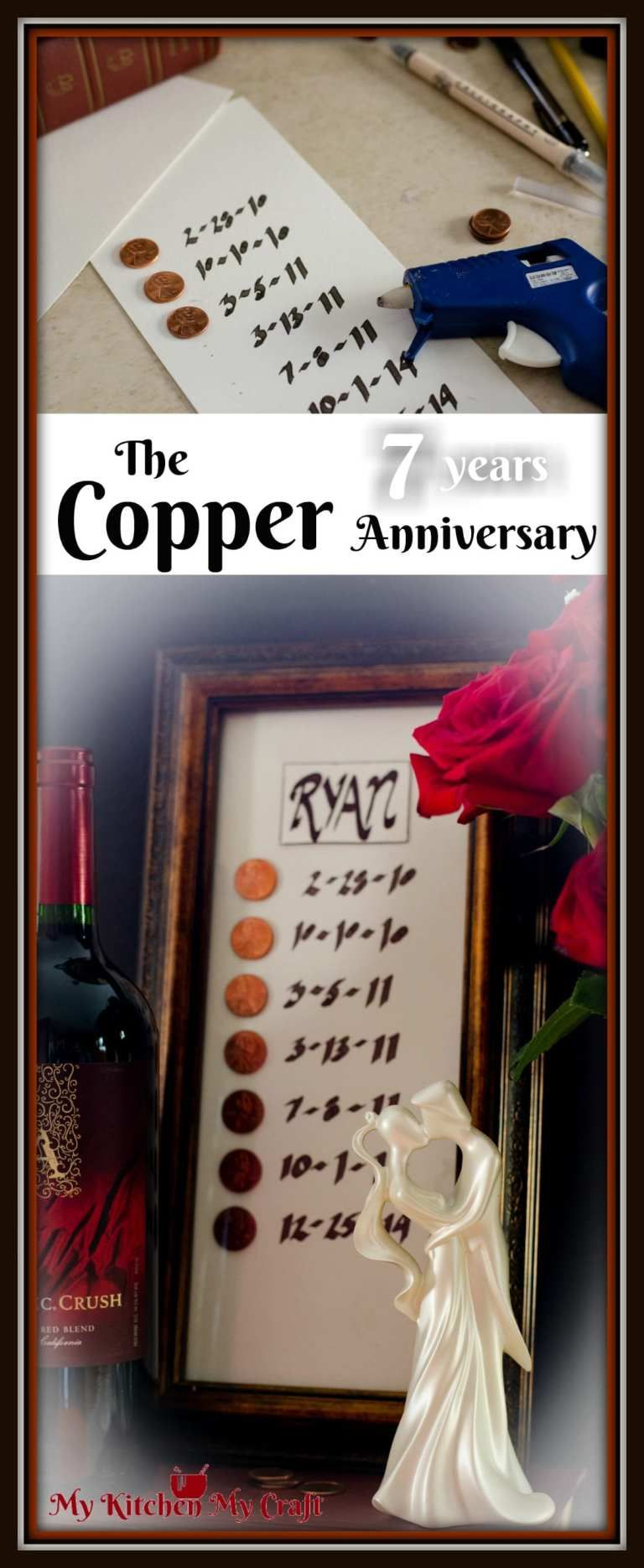 Copper anniversary gift traditional 7th anniversary gift