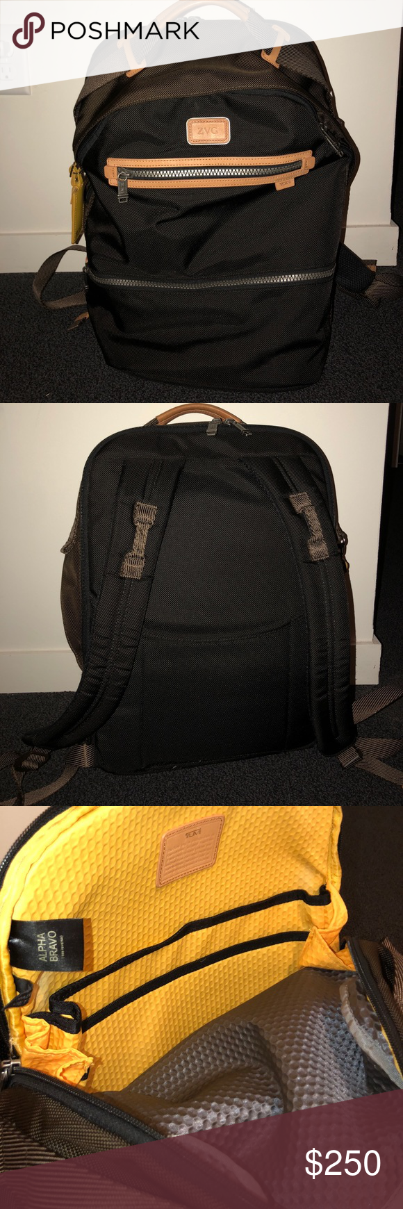 Tumi Alpha Bravo Backpack Used, but in great condition