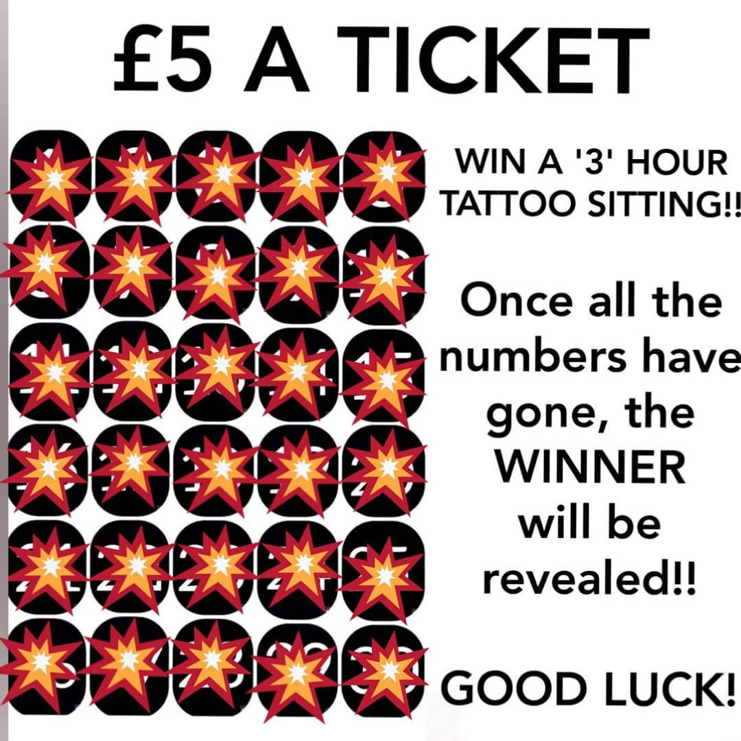 ALL NUMBERS ARE NOW GONE!! . THE WINNER WILL BE REVEALED TOMORROW @ 1PM SO KEEP YOUR 👀's PEELED... . GOOD LUCK TO EVERYONE WHO ENTERED THE COMPETITION. . #winner #pickanumber #winnerreveal #winatattoo #tattooworld #tattoolife