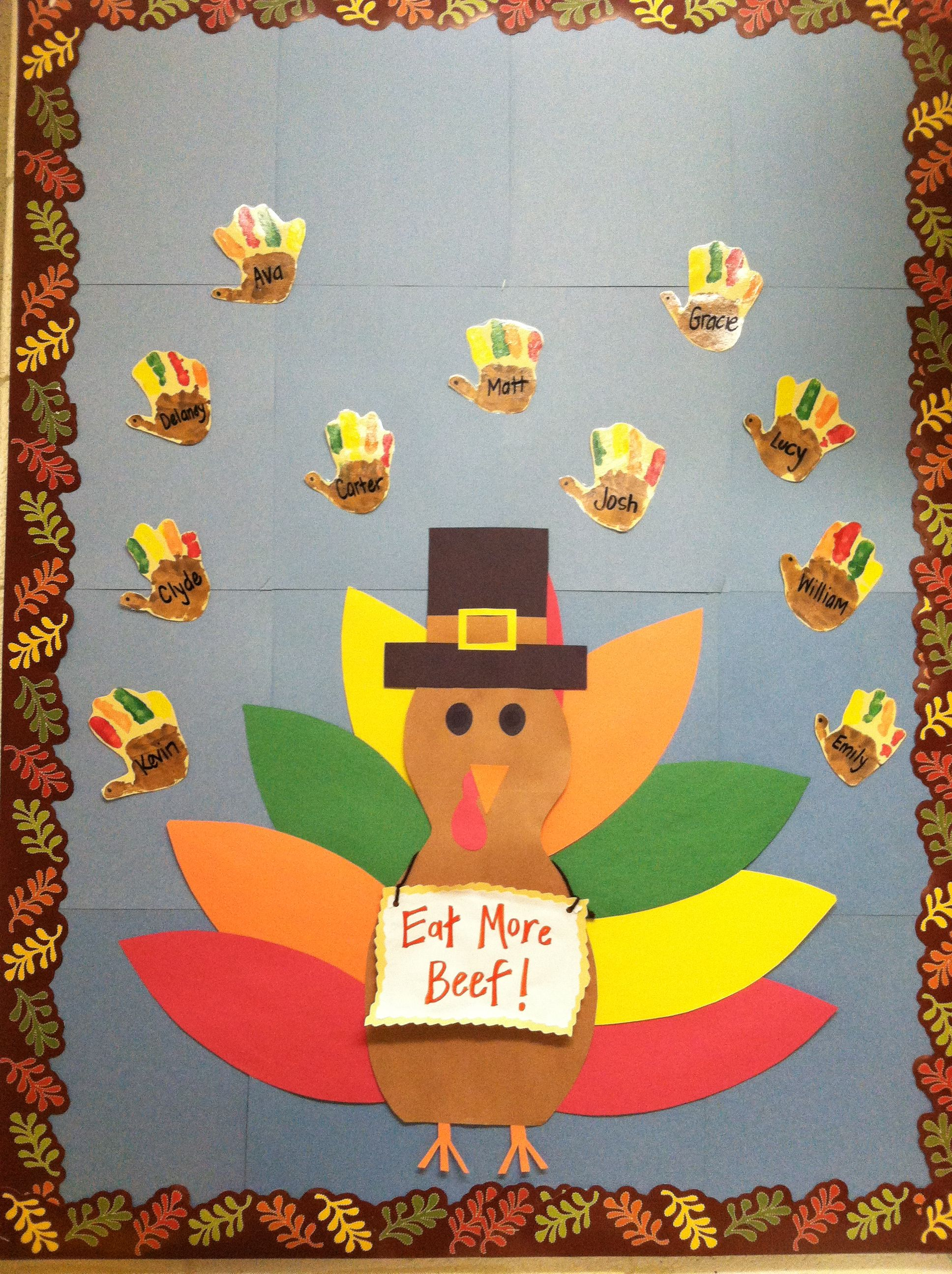 Christmas ideas for prek bulletin board thanksgiving