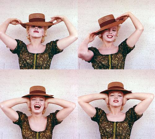 Marilyn in a hat