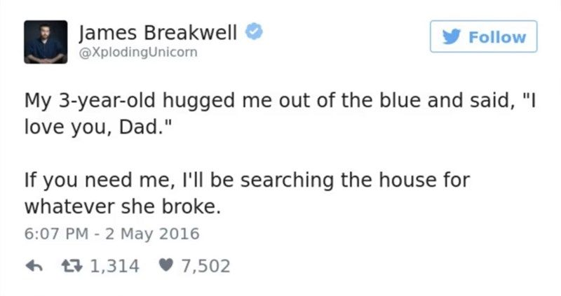 40 Tweets About Raising Kids From Twitter's Funniest Dad
