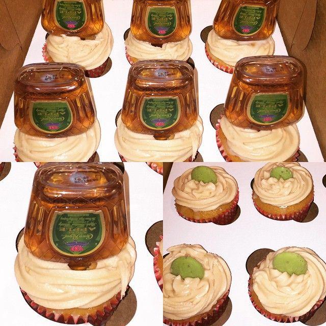 Apple Crown Cupcakes Alcoholic Desserts Drunken Desserts
