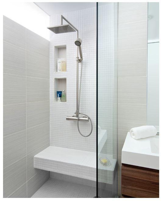 Banc niche douche m me configuration salle de bain - Configuration salle de bain ...
