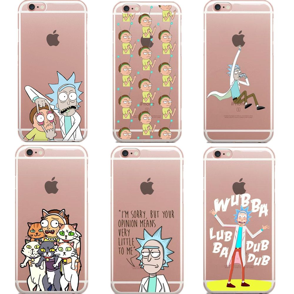 rick and morty coque iphone 6