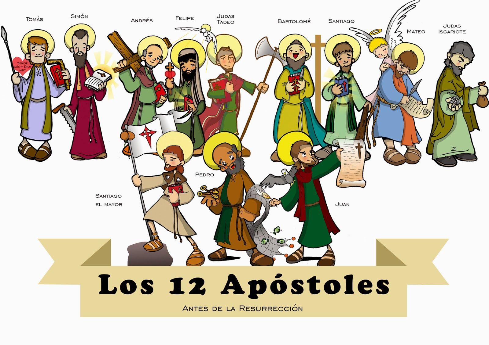 Los Doce Apostoles Catequesis Apostoles De Jesus Apostoles