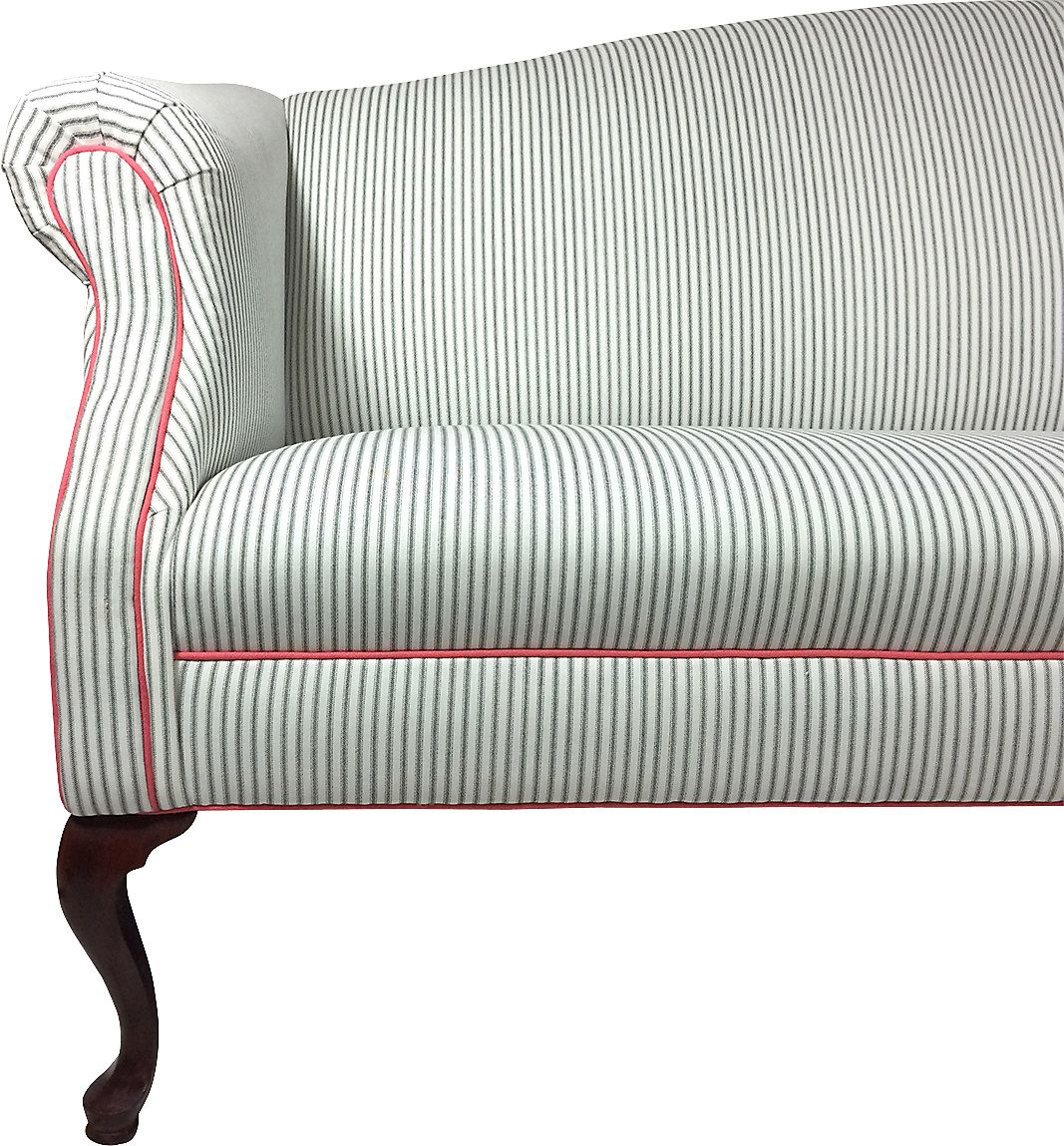 Ticking Stripe Sectional Sofa Infosofaco