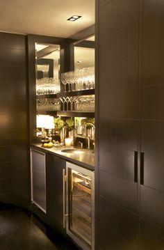 Bar Cabinet With Wine Fridge Foter
