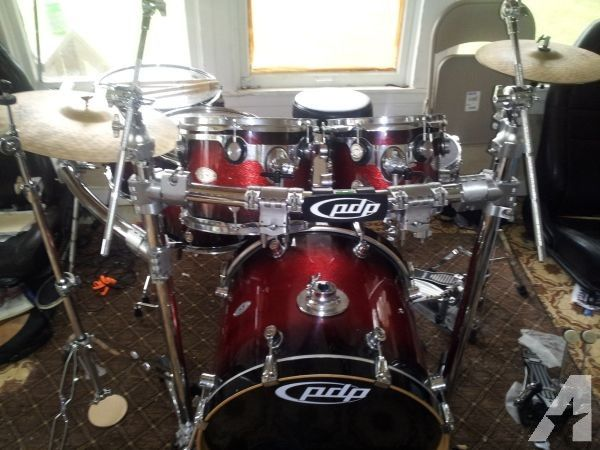 7 Piece PDP X7 Drum Set For Sale Or Trade