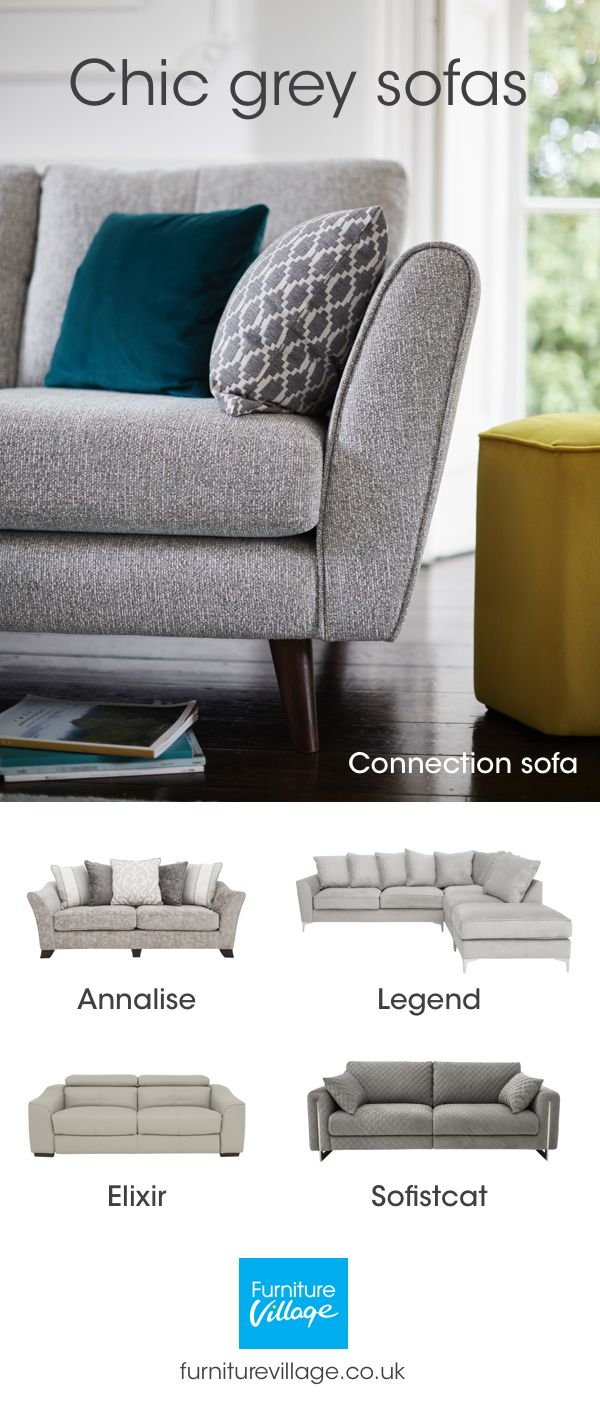 A Grey Sofa Works With Many Different Colour Schemes Decor Styles Take A Look At Our Lates Grey Sofa Living Room Living Room Color Schemes Living Room Color