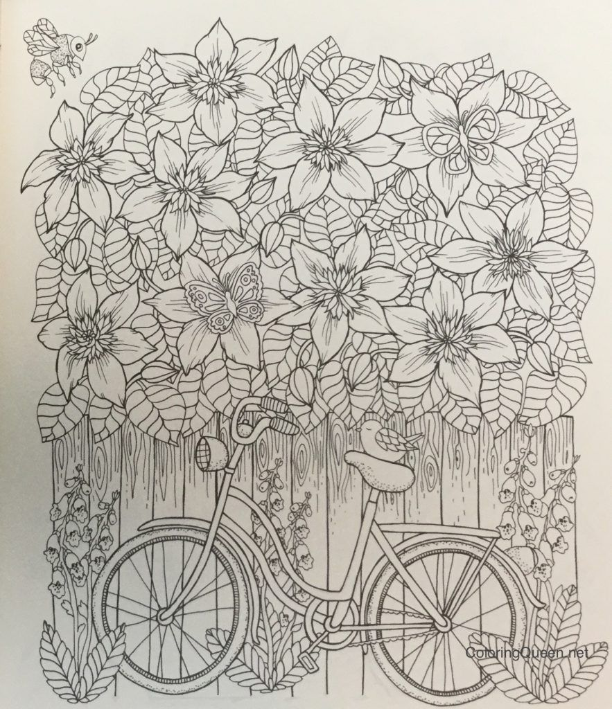 Twilight Garden Coloring Book (aka Blomster Mandala | Coloring books ...