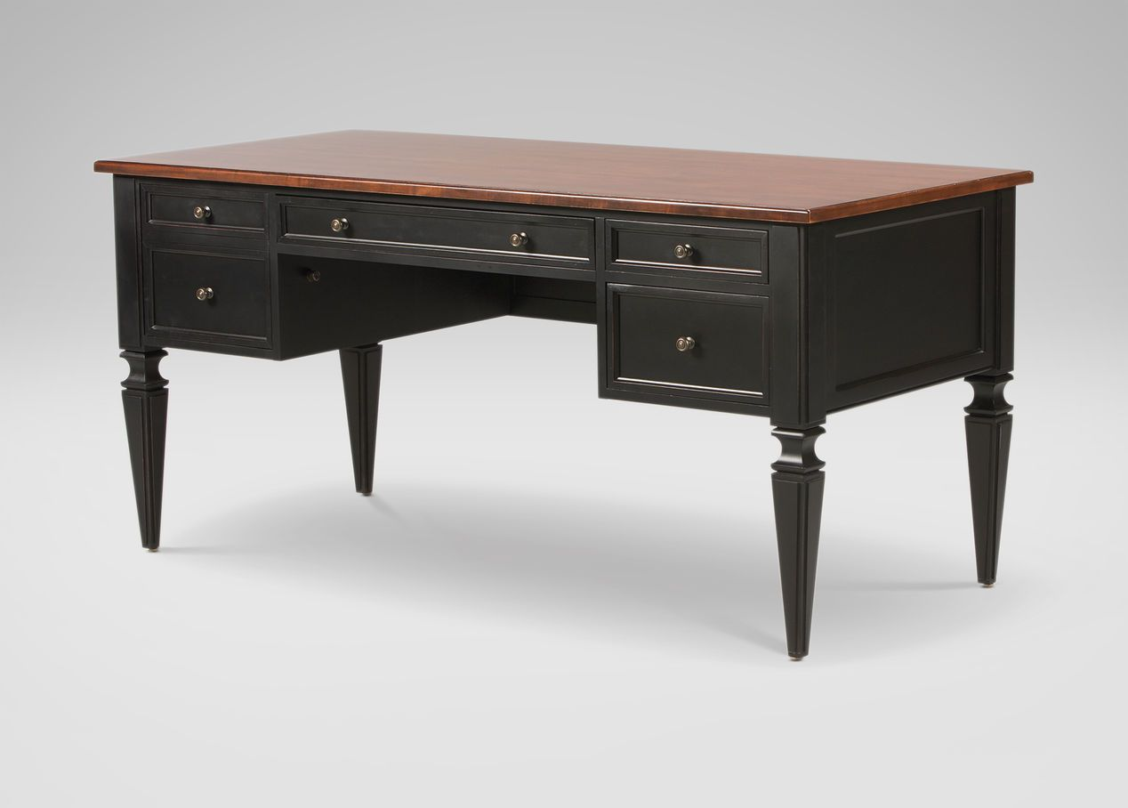 Avery Desk   Ethan Allen. Desk DimensionsHome Office ...