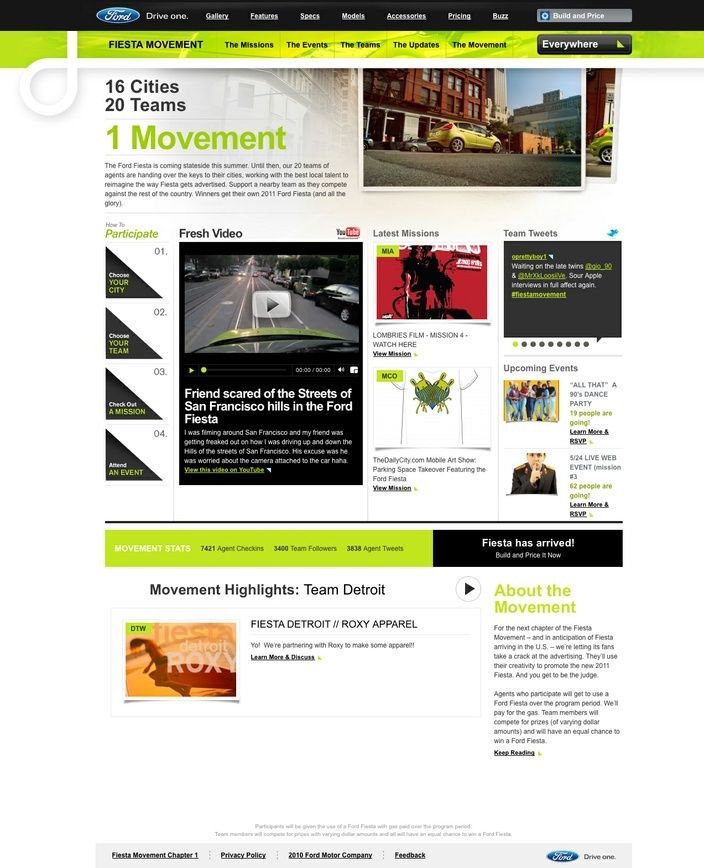 fiesta movement campaign