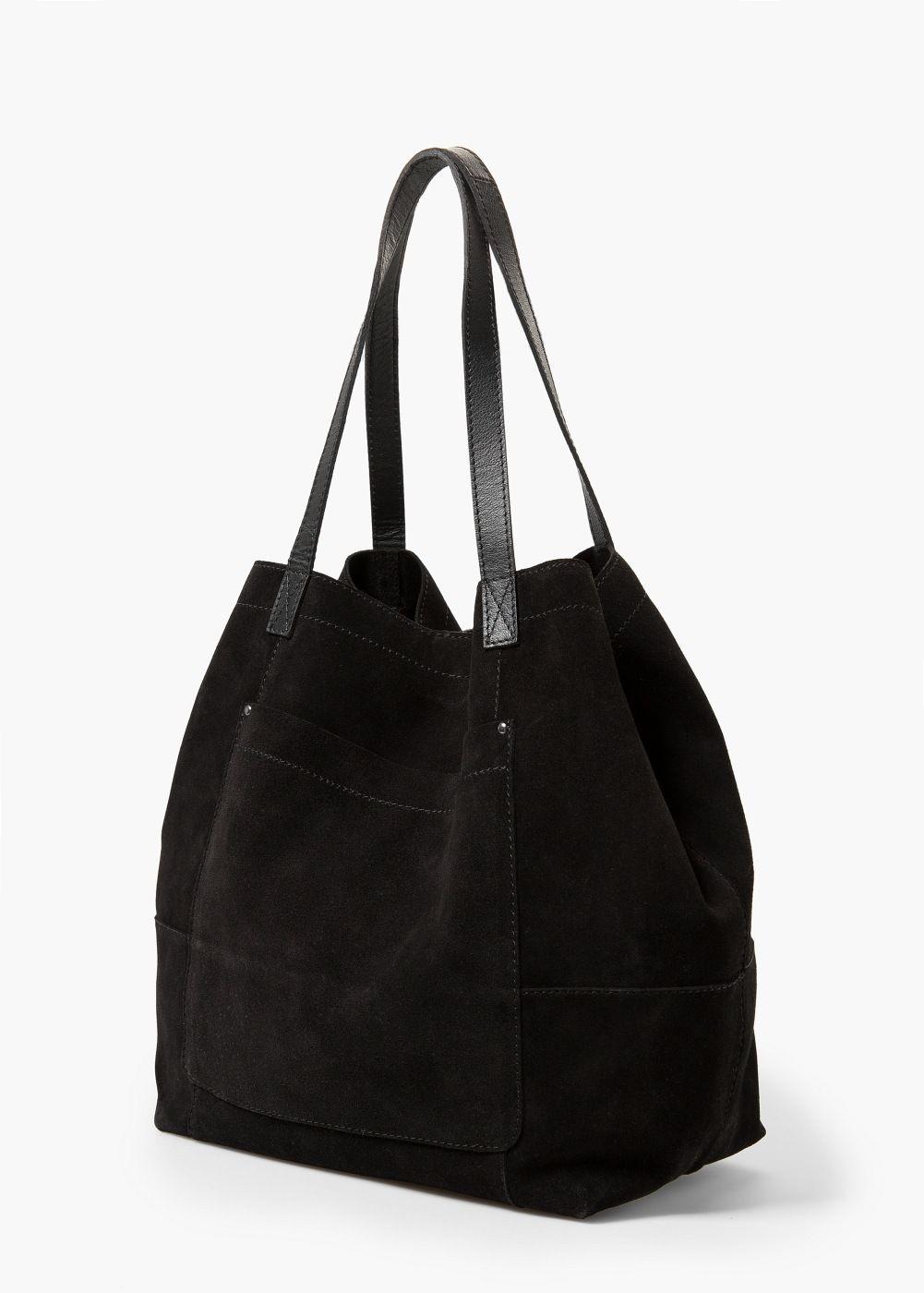 Suede shopper bag  a787054700