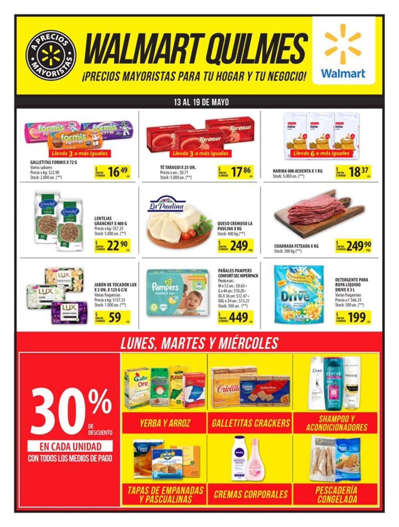 Walmart Folleto Actual Valido Desde El 13 05 2019 Numero De Pagina 1 Walmart Folletos Ofertas