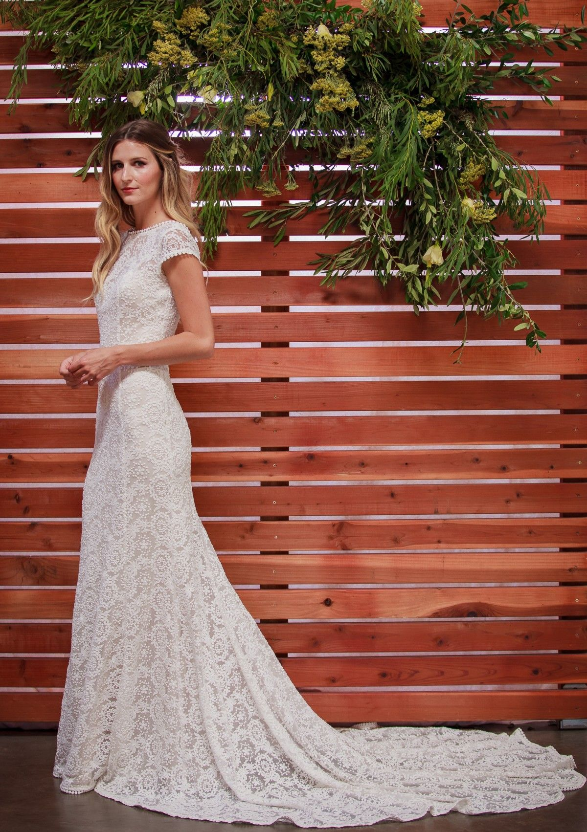 Nellia lace gown embroidered lace lace wedding dresses and lace