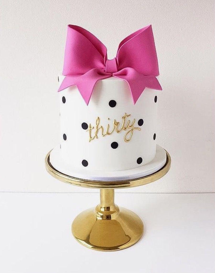 Birthday Mini Cake Birthday Mini Cakes Pinterest Cake 30