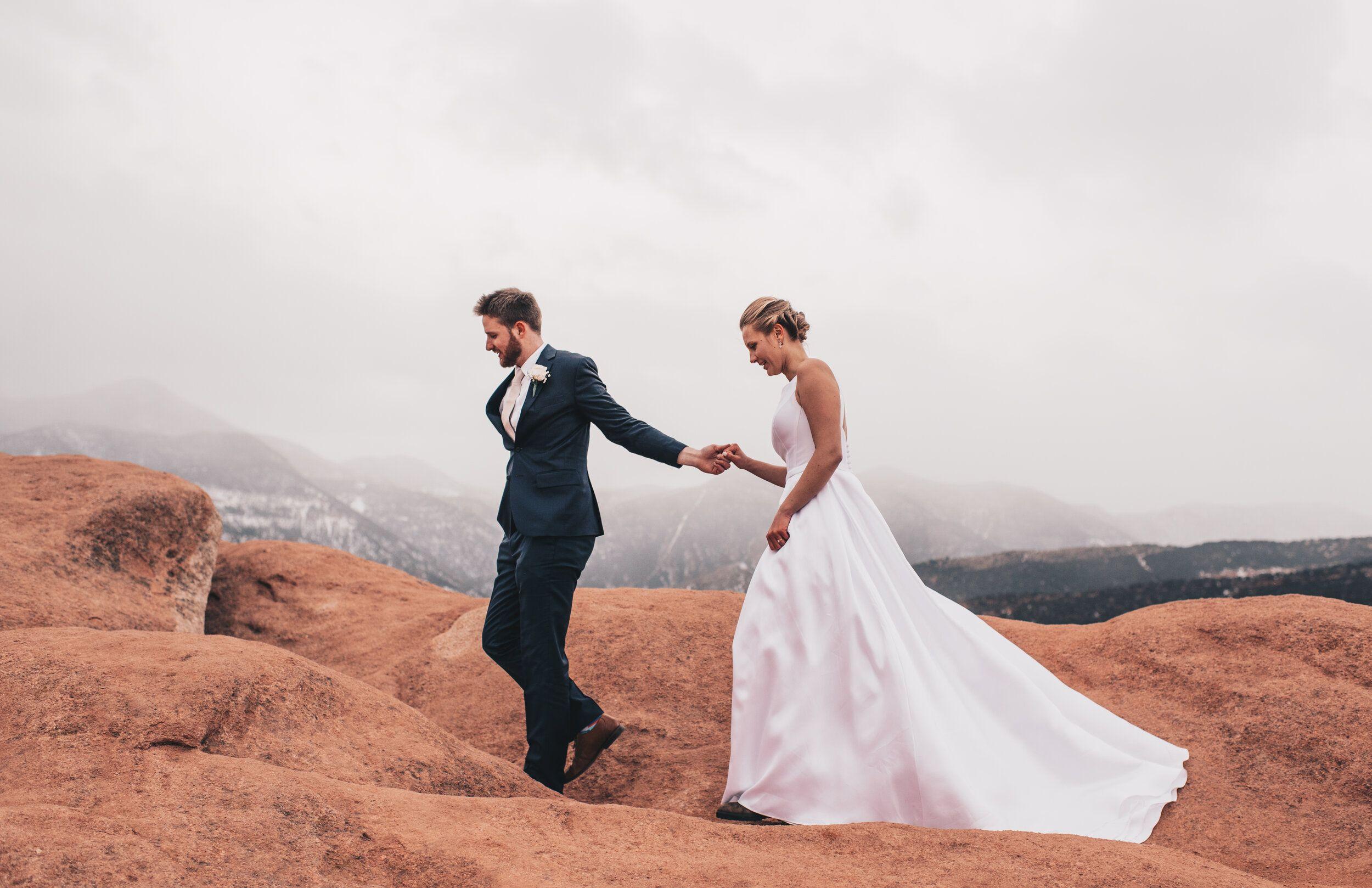 Garden of the Gods Wedding Bridals // Colorado Springs, CO