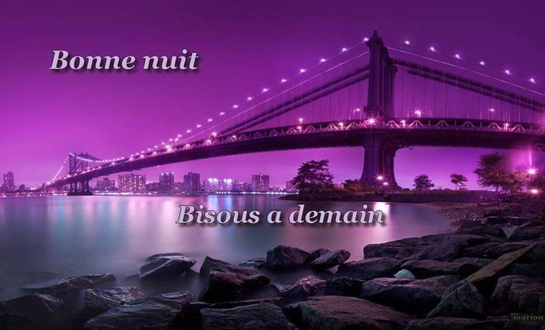 Bonne Nuit Image 4492 Bonne Nuit Bisous A Demain Fleuve Lumieres Pont Ville Part Paysage New York Fond D Ecran Ville Fond D Ecran Coucher De Soleil
