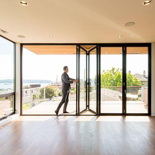 Residential Folding Swing Multi Slide Doors Lacantina Doors La Cantina Publishes Their Budget Cost F Door Glass Design Folding Patio Doors Exterior Doors