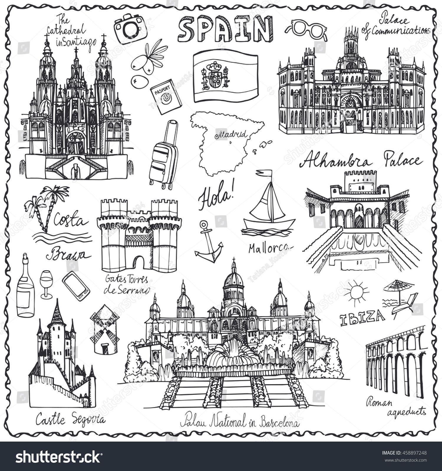 Kansas Travel Symbols